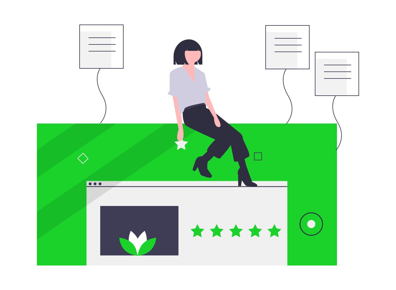 Kunden Feedback Bewertung