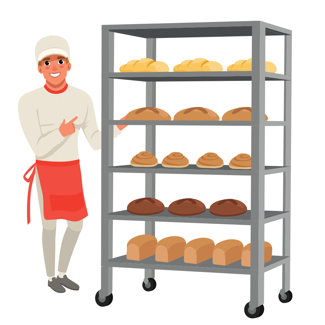 Positionierung Bäcker